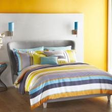 Harlequin Bali Stripe Charcoal Bedding Collection