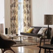 Scion Melinki One Embroideries Curtain Collection