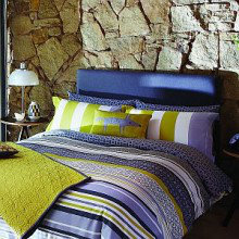 Scion Lace Stripe Bedding Collection