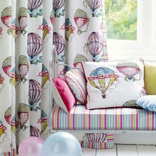 Sanderson Beautiful Balloons Curtain Collection