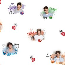 One Direction Wallpaper Border Collection