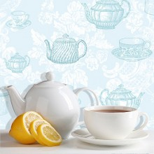 Coloroll Vintage Tea Party Wallpaper Collection