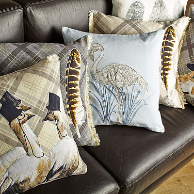 Arthouse Lochs & Lagoons Cushion Collection