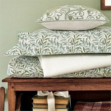 Morris Willow Bough Sage Green Bedding Collection