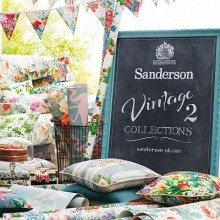 Sanderson Vintage 2 Curtain Collection