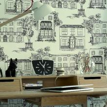 Little Greene 50s Line Papers Wallpaper Collection